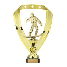 Snowboarding Trophy With 25mm Centre