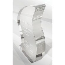 Crystal Kaleido Ribbon Clear