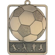 Soccer Medal Gold